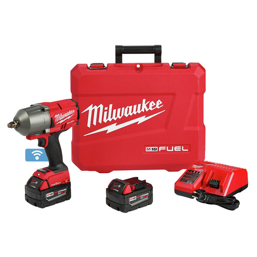 Milwaukee 2863-22 M18 FUEL with ONEKEY High Torque Impact Wrench 1/2 in. Friction Ring Kit image number 0