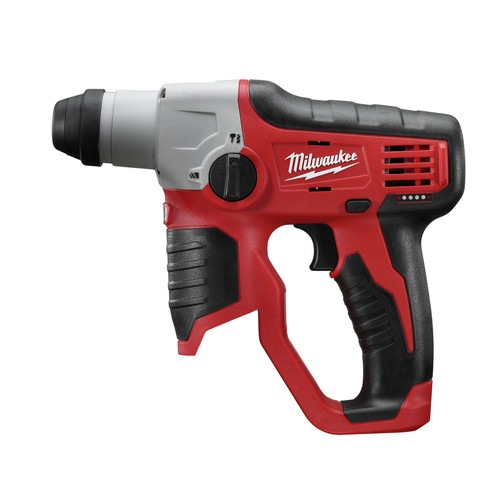 Milwaukee 2412-20 M12 12V Cordless Lithium-Ion 1/2 in. SDS Plus Rotary Hammer Kit (Bare Tool)
