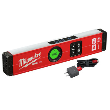 Milwaukee MLDIG14 14 in. REDSTICK Digital Level with PINPOINT Measurement Technology image number 0