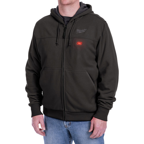 Milwaukee 302B-213X M12 Heated Hoodie Kit with Battery (3X/Black)