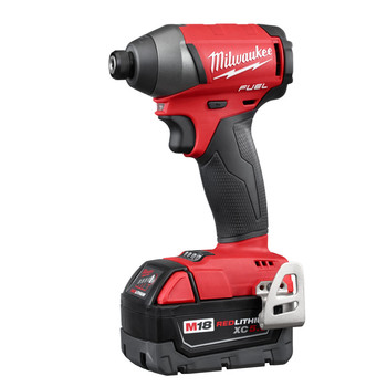 Milwaukee 2753-22 M18 FUEL 5.0 Ah Lithium-Ion 1/4 in. Hex Impact Driver Kit image number 1