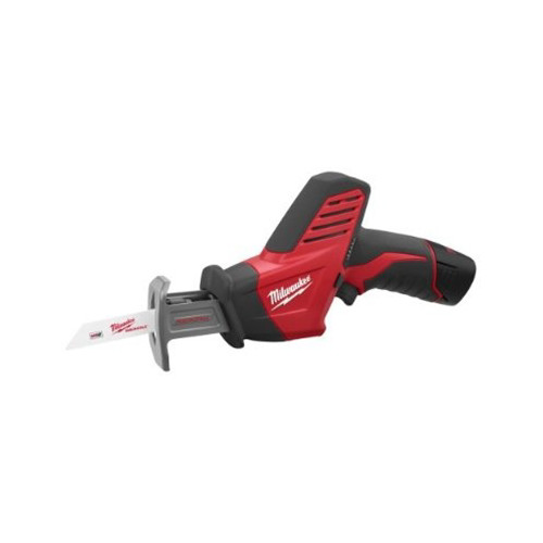 Factory Reconditioned Milwaukee 2420-81 M12 12V Cordless Lithium-Ion Hackzall Reciprocating Saw Kit with Battery