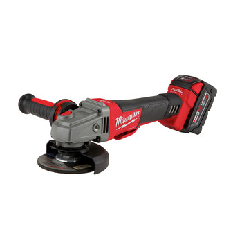 Milwaukee 2783-22 M18 FUEL Cordless 4-1/2 in. - 5 in. Braking Angle Grinder Kit image number 1
