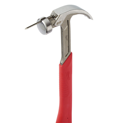 Milwaukee 48-22-9080 20 Oz Curved Claw Smooth Face Hammer image number 5