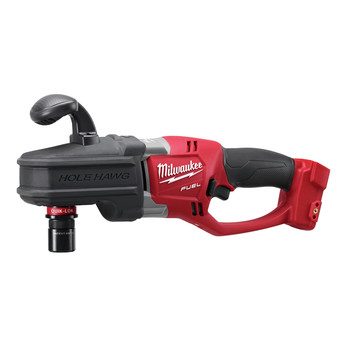 Milwaukee 2708-22HD M18 FUEL HOLE HAWG Lithium-Ion 1/2 in. Cordless Right Angle Drill Kit with QUIK-LOK (9 Ah) image number 2