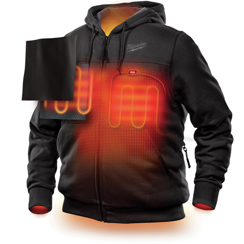 Milwaukee 302B-20L M12 12V Li-Ion Heated Hoodie (Jacket Only) - Large image number 2