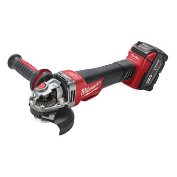 Milwaukee 2783-22 M18 FUEL Cordless 4-1/2 in. - 5 in. Braking Angle Grinder Kit image number 3