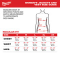 Milwaukee 333B-20L M12 12V Li-Ion Heated Women's AXIS Vest (Vest Only) - Large image number 4