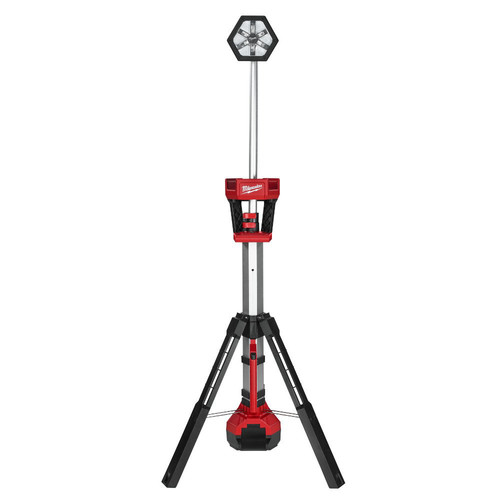 Factory Reconditioned Milwaukee 2130-80 M18 18V Cordless Lithium-Ion TRUEVIEW LED Stand Light (Bare Tool)