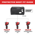 Milwaukee 49-16-2554 M12 FUEL Stubby Protective Boot for 2554, 2555 and 2555P image number 1