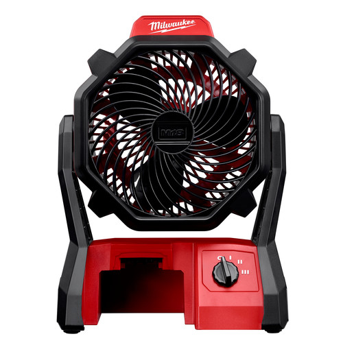 Milwaukee 0886-20 M18 18V Portable Jobsite Fan with AC Adapter (Tool Only) image number 0