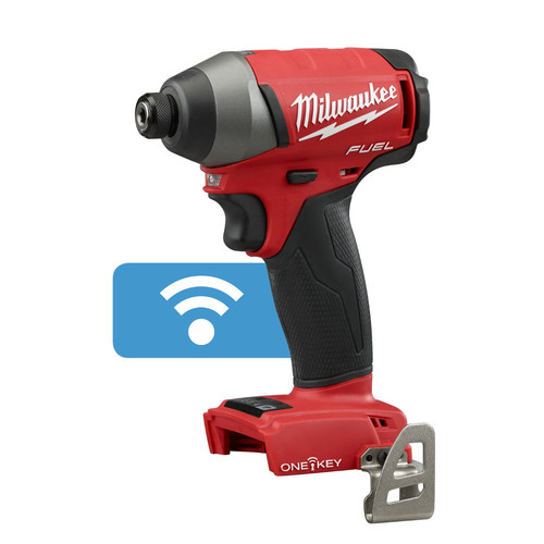Milwaukee 2757-20 M18 FUEL 18V Cordless Lithium-Ion 1/4 in. Hex Impact Driver with ONE-KEY Connectivity (Bare Tool)