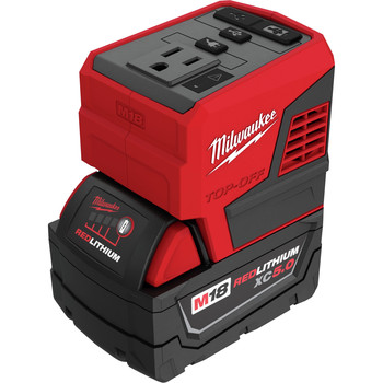 Milwaukee 2846-50 M18 TOP-OFF 175-Watt Cordless Power Supply with M18 REDLITHIUM XC 5 Ah Lithium-Ion Battery
