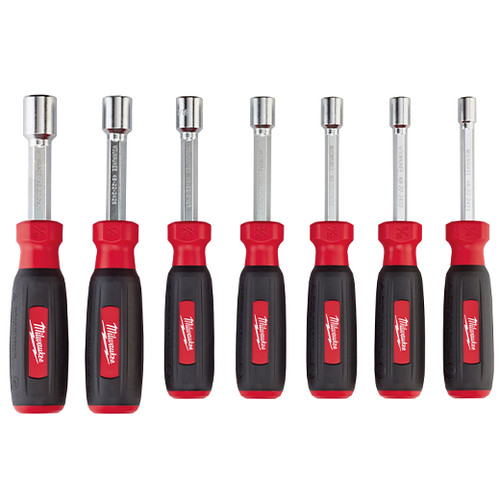 Milwaukee 48-22-2407 7-Piece Hollow Shaft SAE Nut Driver Set image number 0