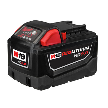 Milwaukee 48-11-1890 M18 REDLITHIUM HIGH DEMAND HD 9 Ah Lithium-Ion Battery