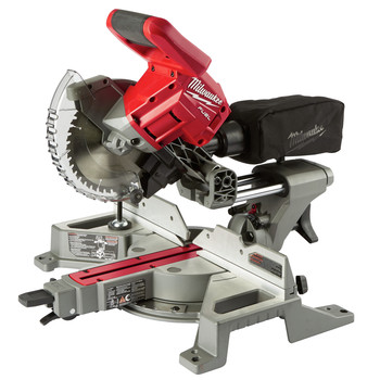 Milwaukee 2733-21 M18 FUEL 7-1/4 in. Dual Bevel Sliding Compound Miter Saw Kit image number 1