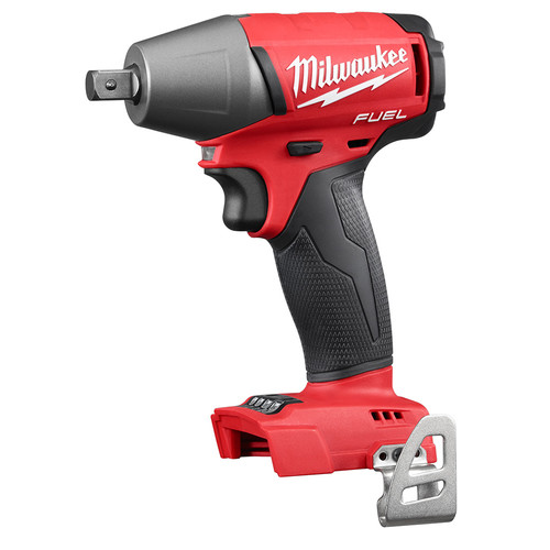 Factory Reconditioned Milwaukee 2755-80 FUEL M18 18V Cordless Lithium-Ion 1/2 in. Compact Impact Wrench with Pin Detent (Bare Tool)