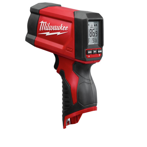 Milwaukee 2278-20 M12 12V Cordless Lithium-Ion 12:1 Infrared Temp-Gun (Tool Only) image number 0