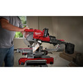 Milwaukee 2734-21 M18 FUEL Lithium-Ion Brushless Dual Bevel Sliding 10 in. Cordless Compound Miter Saw Kit (8 Ah) image number 6