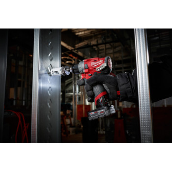 Milwaukee 2598-22 M12 FUEL 2-Tool Combo Kit: 1/2 in. Hammer Drill and 1/4 in. Hex Impact Driver image number 6