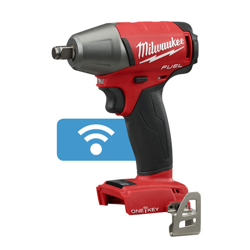 Factory Reconditioned Milwaukee 2759B-80 M18 FUEL Cordless Lithium-Ion 1/2 in. Compact Impact Wrench with Friction Ring and ONE-KEY Connectivity (Tool Only)