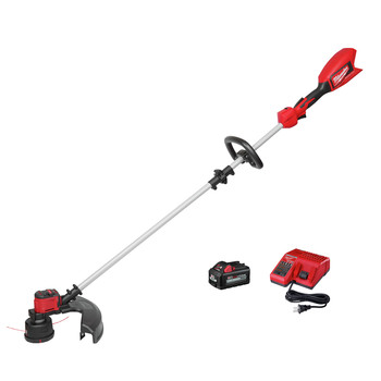 Milwaukee 2828-21 M18 Brushless Lithium-Ion Cordless String Trimmer Kit (6 Ah)