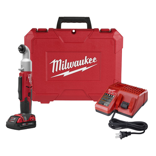 Milwaukee 2667-21CT M18 Lithium-Ion 1/4 in. 2-Speed Right Angle Impact Driver Kit