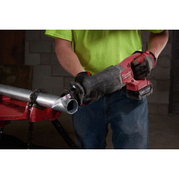 Factory Reconditioned Milwaukee 2721-82 M18 FUEL XC 5.0 Ah Cordless Lithium-Ion SAWZALL Reciprocating Saw Kit with ONE-KEY image number 3