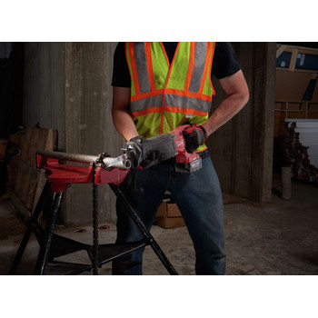 Factory Reconditioned Milwaukee 2721-82 M18 FUEL XC 5.0 Ah Cordless Lithium-Ion SAWZALL Reciprocating Saw Kit with ONE-KEY image number 6