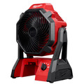 Milwaukee 0886-20 M18 18V Portable Jobsite Fan with AC Adapter (Tool Only) image number 2