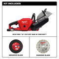 Milwaukee 2786-20 M18 FUEL Lithium-Ion 9 in. Cut-Off Saw with ONE-KEY (Tool Only) image number 1