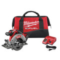 Milwaukee 2730-21 M18 FUEL Cordless 6-1/2 in. Circular Saw with (1) REDLITHIUM Battery image number 0