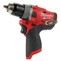 Factory Reconditioned Milwaukee 2504-80 M12 FUEL Lithium-Ion 1/2 in. Cordless Hammer Drill (Tool Only) image number 1