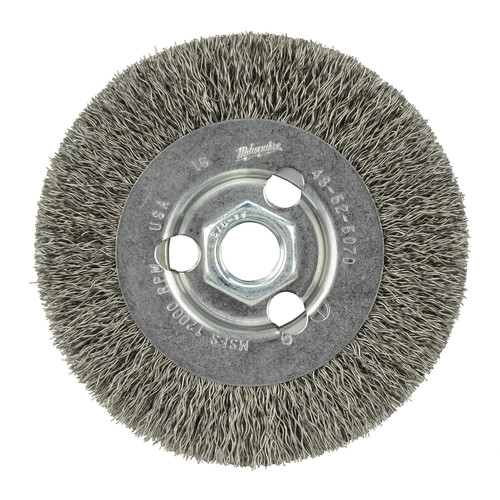 Milwaukee 48-52-5070 4 in. Crimped Wire Wheel image number 1