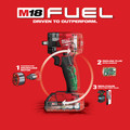 Milwaukee 2854-22CT M18 FUEL Lithium-Ion Brushless Compact 3/8 in. Cordless Impact Wrench Kit with Friction Ring (2 Ah) image number 7
