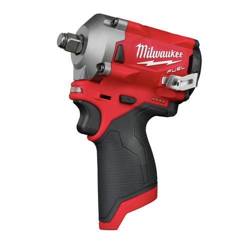 Factory Reconditioned Milwaukee 2555-80 M12 FUEL Stubby 1/2 in. Impact Wrench with Friction Ring (Tool Only) image number 1