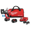 Milwaukee 2867-22 M18 FUEL 1 in. High Torque Impact Wrench Kit with ONE KEY and (2) 8.0 Ah Batteries image number 1