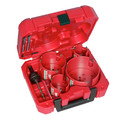 Milwaukee 9285-4138-BNDL 8 Pc BIG HAWG with Carbide Teeth Kit and 8-Pc. Plumber's Hole Dozer Hole Saw Kit image number 2