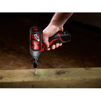 Milwaukee 2462-22 M12 12V Cordless Lithium-Ion 1/4 in. Hex Impact Driver Kit image number 9