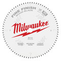 Milwaukee 48-40-1224 12 in. 80T Fine Finish Circular Saw Blade image number 0