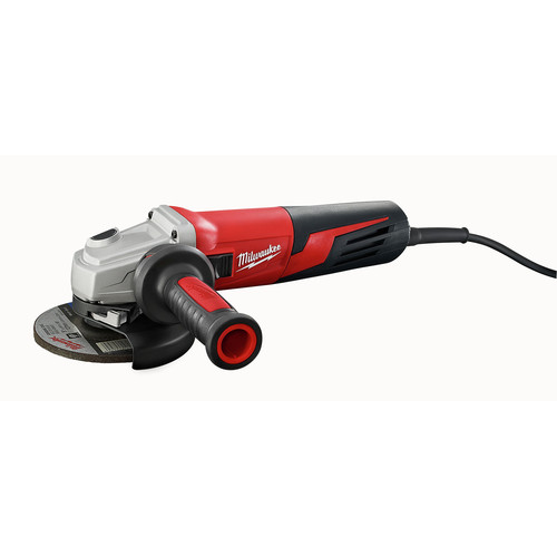 Milwaukee 6117-33D 5 in. 13 Amp Slide Switch Small Angle Grinder with Lock-On and Dial Speed image number 0