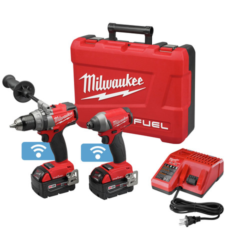 Factory Reconditioned Milwaukee 2795-82 18V FUEL Lithium-Ion 2-Tool Combo Kit with ONE-KEY