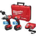 Milwaukee 2796-22 M18 FUEL Cordless Lithium-Ion 2-Tool Combo Kit with ONE-KEY Connectivity