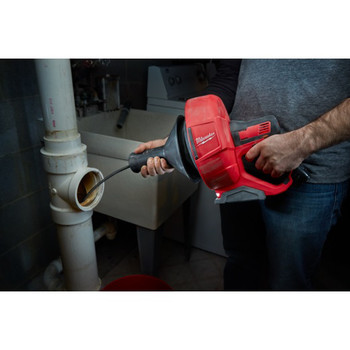 Milwaukee 2571-20 12V Cordless Li-Ion Drain Snake with Bucket (Tool Only) image number 6