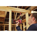 Milwaukee 2697-22PO M18 Compact Lithium-Ion 1/2 in. Cordless Hammer Drill/1/4 in. Cordless Hex Impact Driver Combo Kit (3 Ah) with PACKOUT Tool Box image number 8