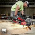 Milwaukee MXF314-2XC MX FUEL Brushless Lithium-Ion 14 in. Cordless Cut-Off Saw Kit (6 Ah) image number 6
