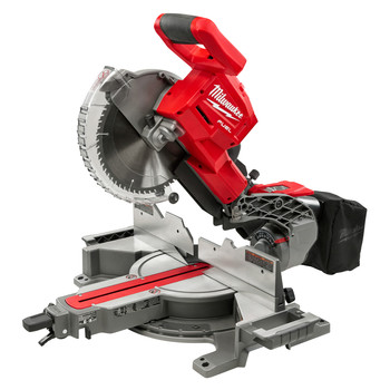 Milwaukee 2734-20 M18 FUEL Cordless Lithium-Ion 10 in. Dual Bevel Sliding Compound Miter Saw (Tool Only)