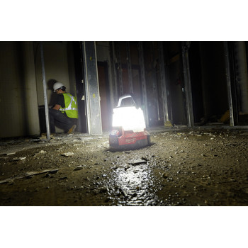 Milwaukee 2145-20 M18 18V Lithium-Ion Radius LED Compact Site Light (Tool Only) image number 5