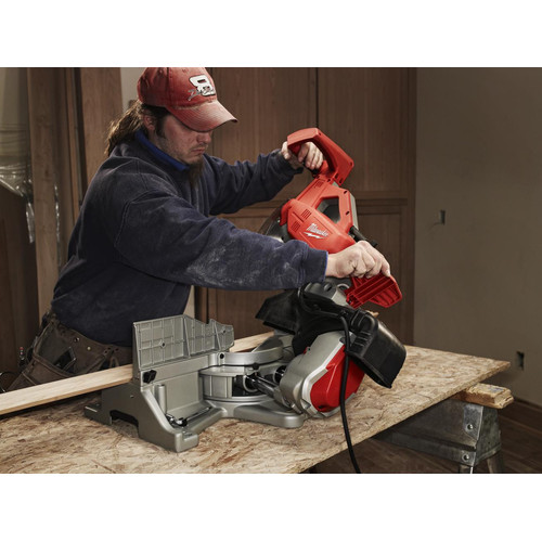 Milwaukee 6955-20 12 in. Dual-Bevel Sliding Compound Miter Saw image number 1