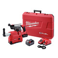 Milwaukee 2715-22DE M18 FUEL Lithium-Ion 1-1/8 in. SDS Plus Rotary Hammer and HAMMERVAC Dedicated Dust Extractor Kit
